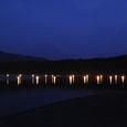 竜宮祭の灯
